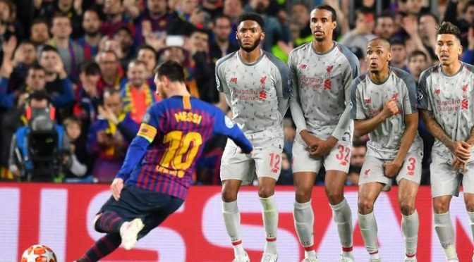 Lionel Messi Menangi Goal of The Tournament Liga Champions 2018/2019