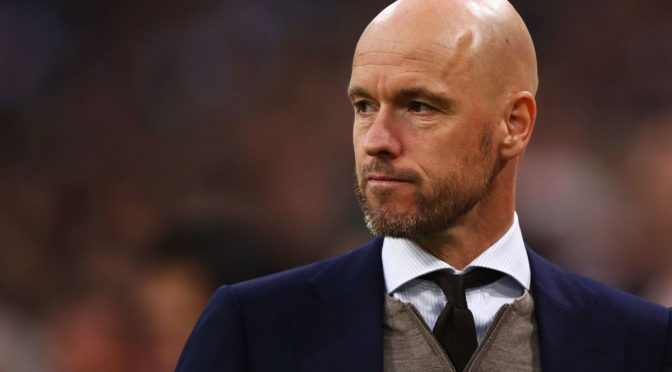 Ajax Tolak Lepas Pelatih Erik ten Hag ke AS Roma
